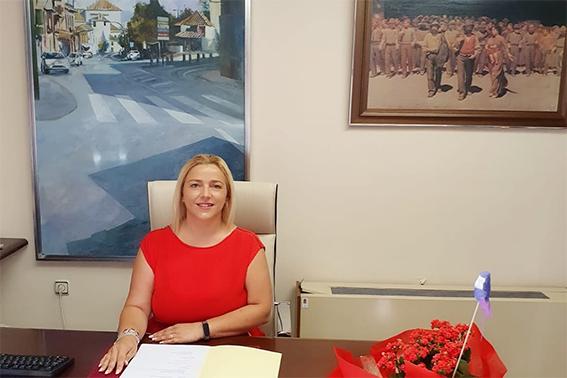 Purificacíon López, Alcaldesa de La Zubia